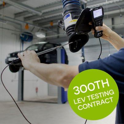 300th LEV Testing Contract